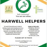Advert for Harwell Helpers