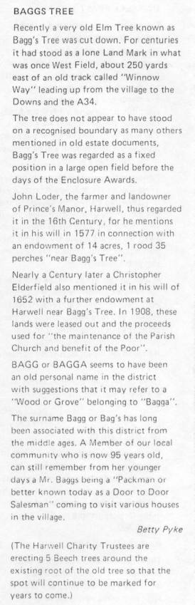 Extract from Harwell News 1983