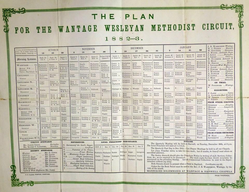 Circuit Plan 1882-3: