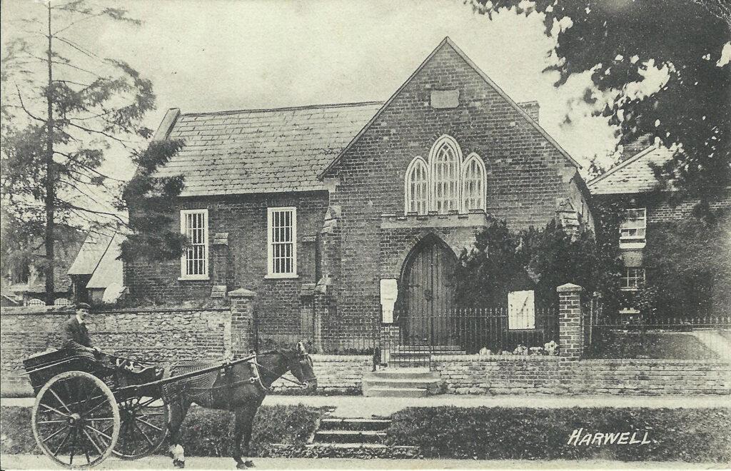 Harwell, High Street, Methodist Chapel and Chapel House